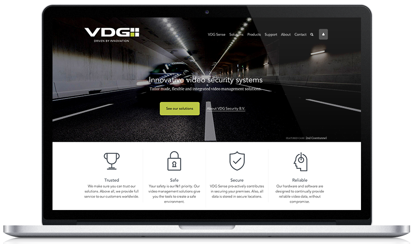 VDG Security Brand Redesign